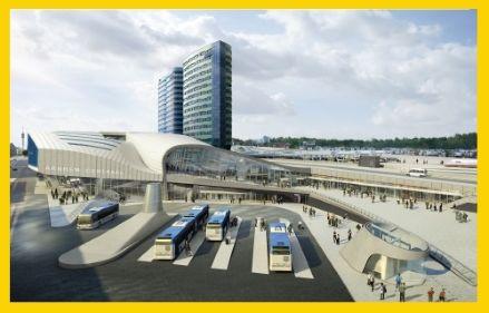 Futuristisch station Arnhem